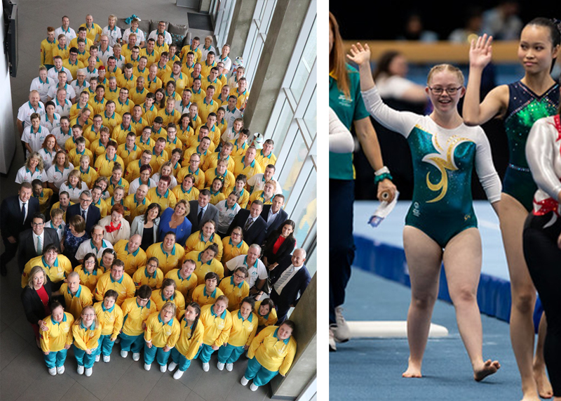 Australian Team 2019 Specia Olympic Summer Games 2019